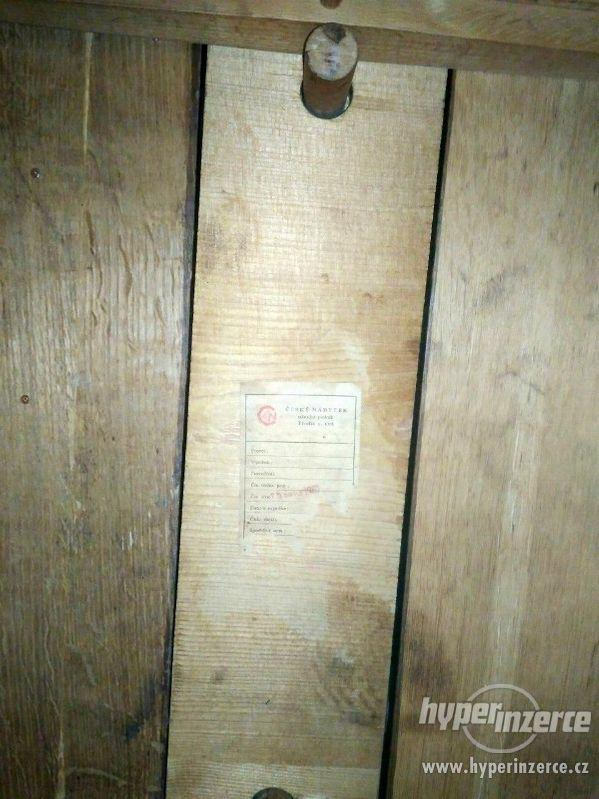Židle retro sada Expo 4ks - stůl rozkládací. - foto 8