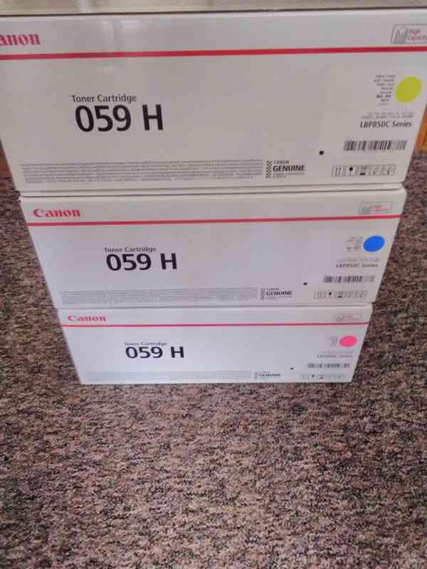 Canon 059H / tonery / Magenta / Yellow / Cyan / 3Ks