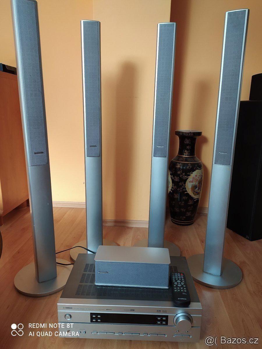 Receiver Yamaha HTR-5630 RDS+5 repro Panasonic - foto 1