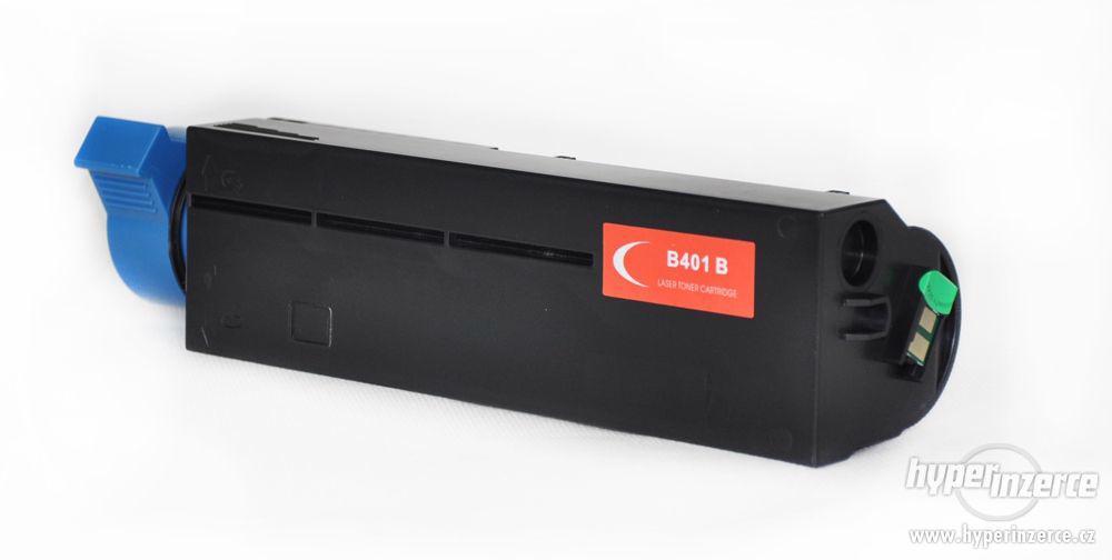 Toner kompatibilní s OKI B401, černý