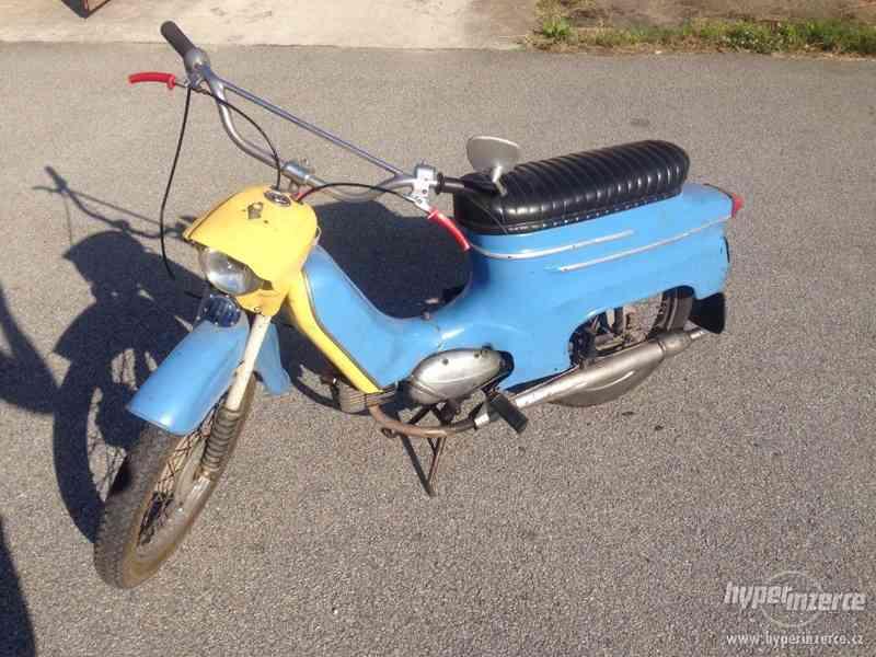 Výměna Jawa 50/05 Pionýr r.v.:1965 za Pařez 550