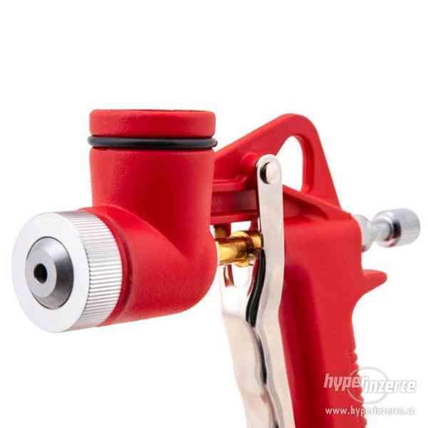 Stříkací pistole na omítky s umělohmotným trychtýřem + 3 try - foto 7