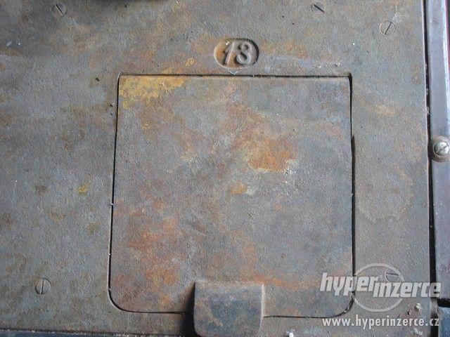 Prodám litinová kamna - foto 5