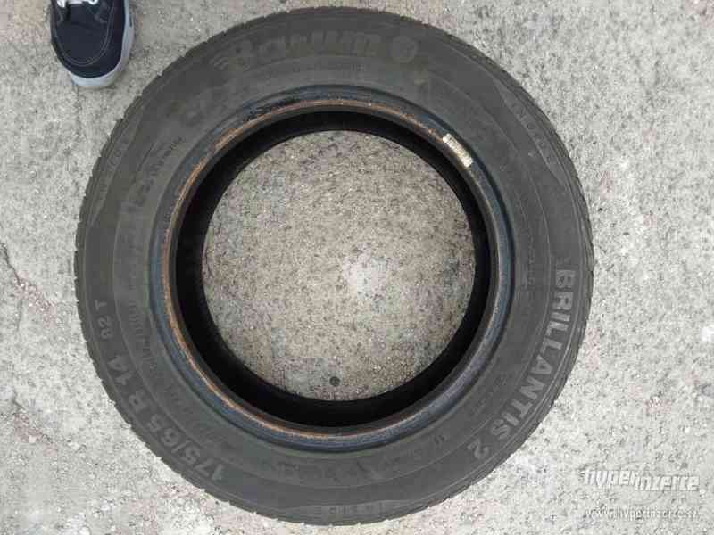 2x letní pneu R14 175/65