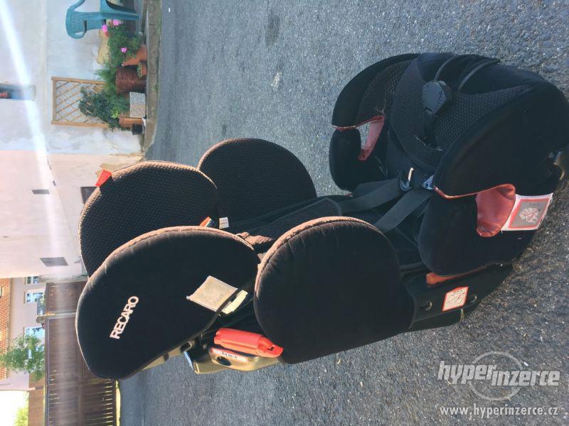 Autosedačka Recaro 9-36 kg - foto 1