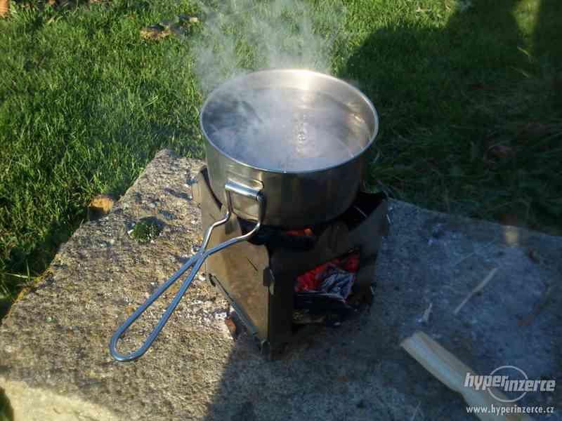 Vařič dřívkáč - foto 4