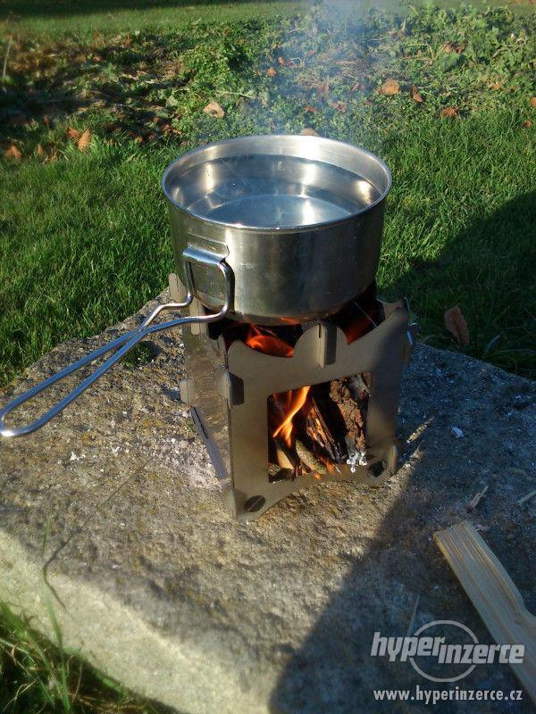 Vařič dřívkáč - foto 3