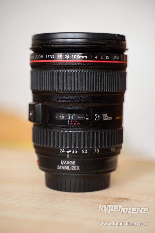 Sony a7s + Canon 24-105 + příslušenství - foto 1
