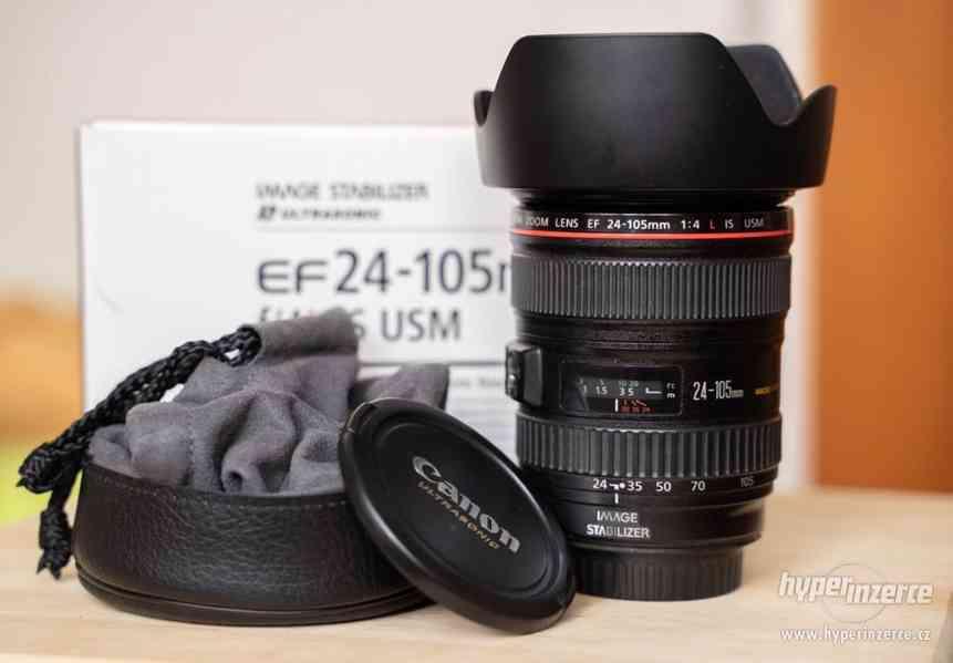 Sony a7s + Canon 24-105 + příslušenství - foto 3