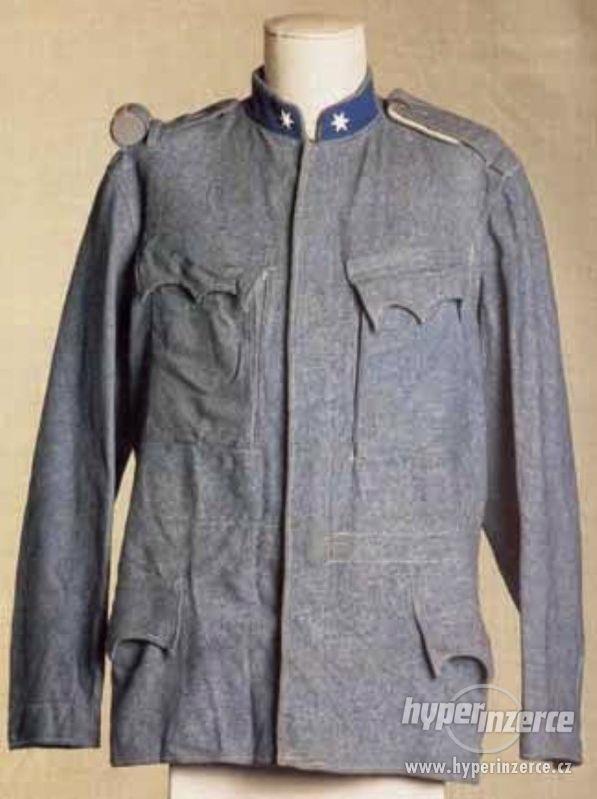 Koupím staré vojenské uniformy z první světové války