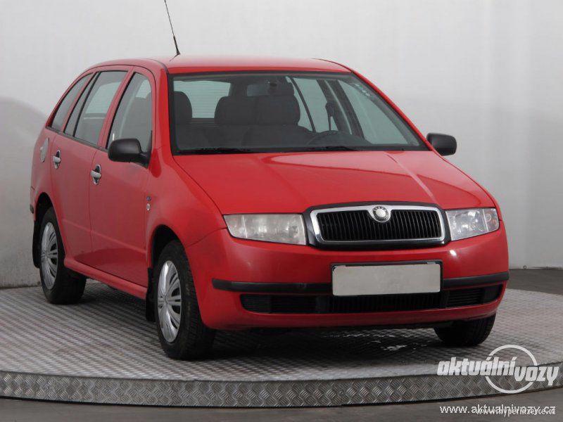 Škoda Fabia 1.4, benzín, r.v. 2002, STK
