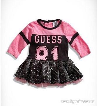 Guess dívčí šaty Tutu tričko s našitou sukní n.18