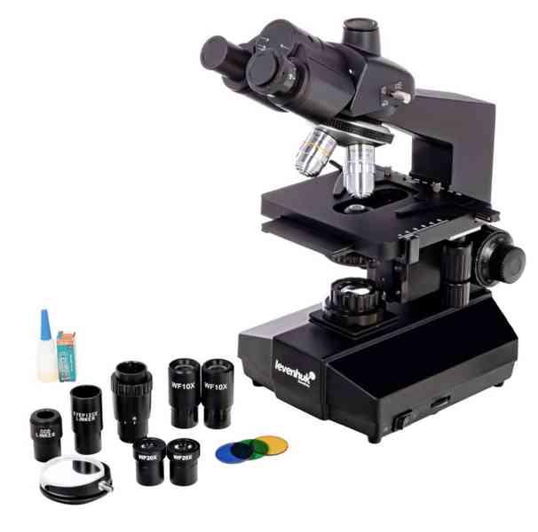 Biologický trinokulární mikroskop Levenhuk 870T - foto 2