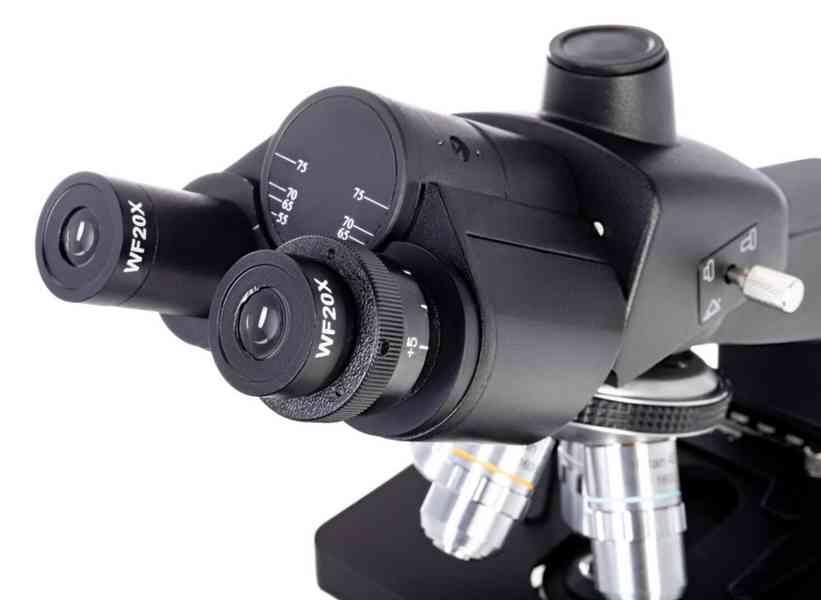 Biologický trinokulární mikroskop Levenhuk 870T - foto 4