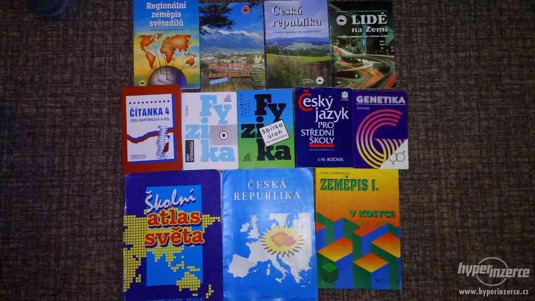 Prodám starší učebnice pro SŠ