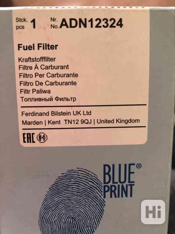 Palivový filtr BLUE PRINT ADN12324 všechny benzinové PSA - foto 2