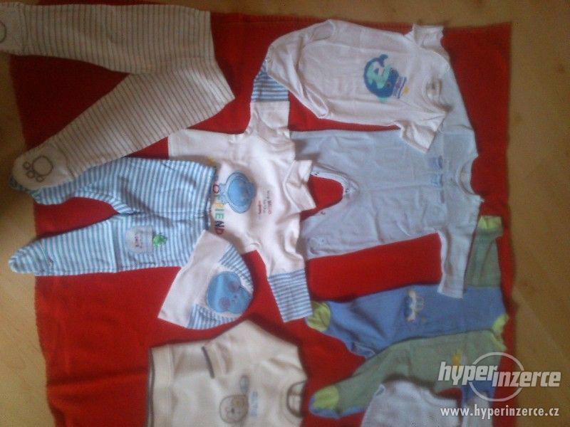 Set dětského chlapeckého oblečení, vel. 0 - 1 rok