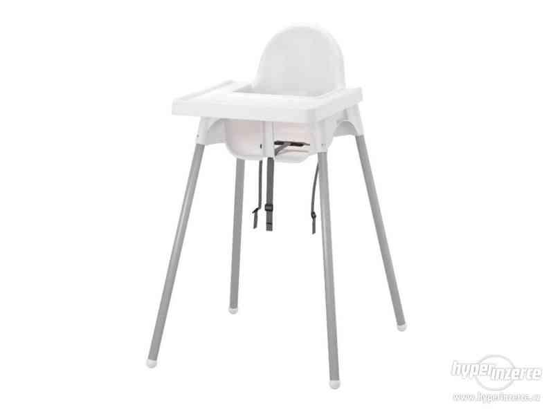 Dětská jídelni židle - Ikea