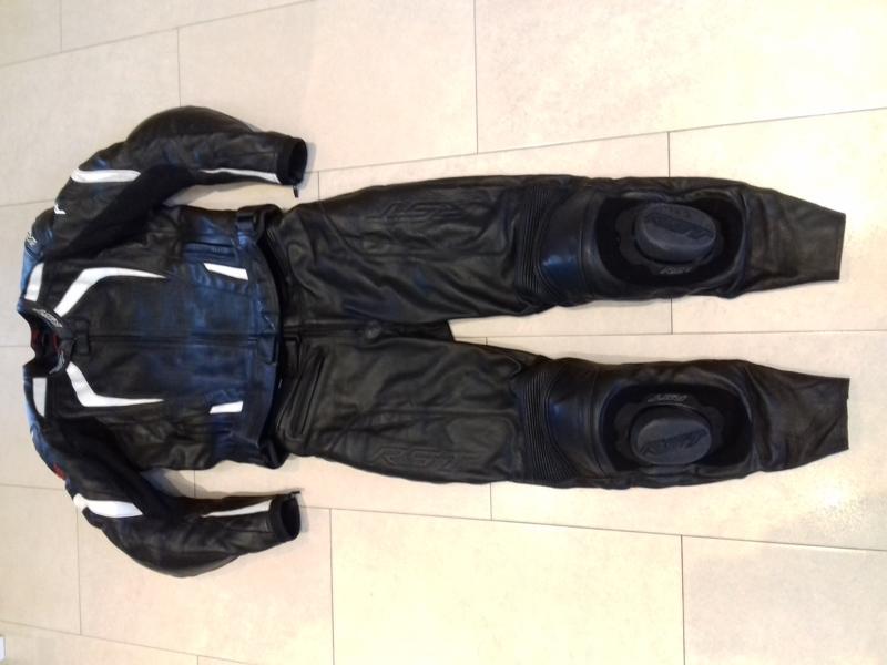 RST-Pánská kožená moto kombineza,dvoudílná