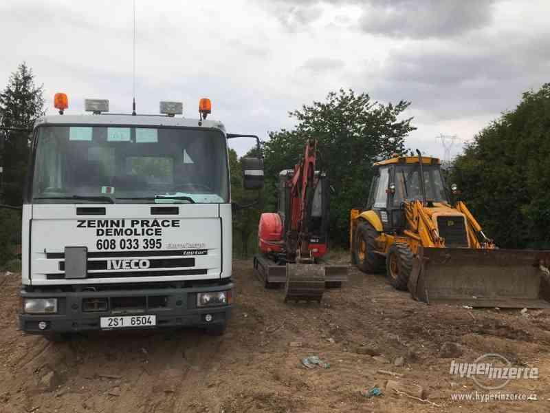Zemní práce, demolice, nákladní doprava, kontejnerová doprav