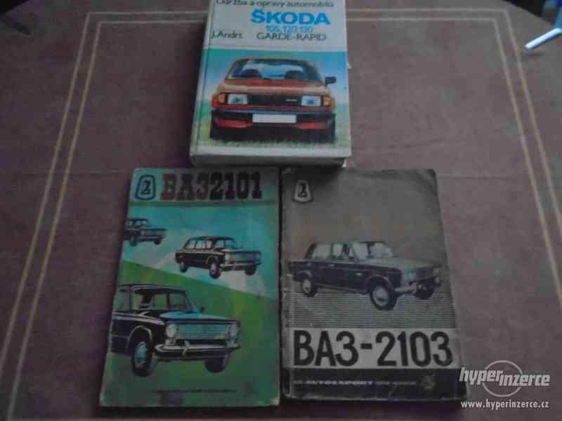 Prodám dílenské příručky Škoda,Vaz,Opel - foto 1