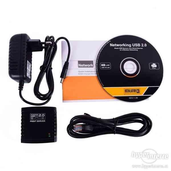 Print server USB/LAN/WIFI - NOVÝ! - foto 3