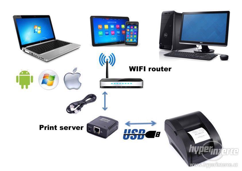 Print server USB/LAN/WIFI - NOVÝ! - foto 4