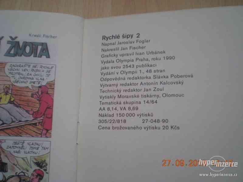 RYCHLÉ ŠÍPY - sešity z roku 1990-1 - foto 11