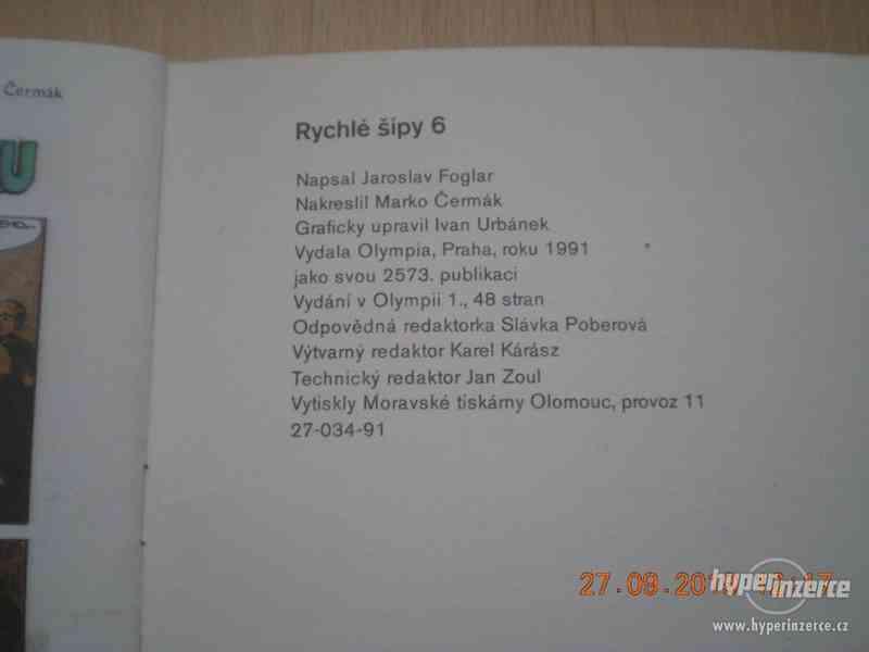 RYCHLÉ ŠÍPY - sešity z roku 1990-1 - foto 20