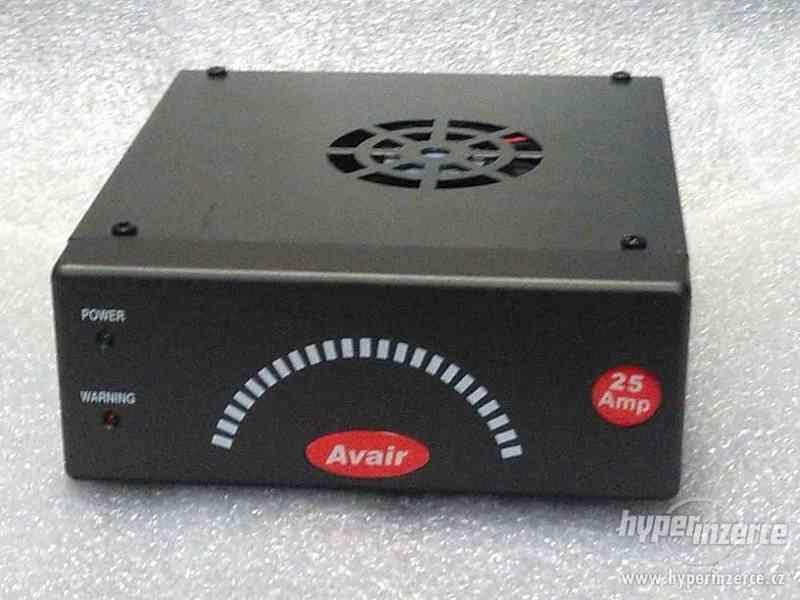 Prodám zdroj Avair 13,8V 25A - foto 1