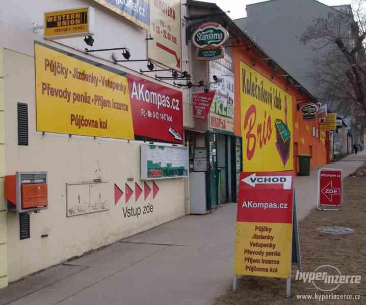 AKompas Brno Western Union i USD nebankovní převody peněz