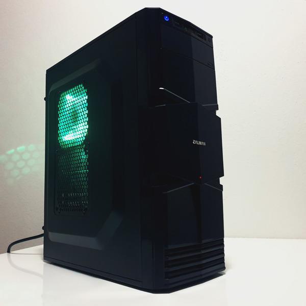 Herní PC - Intel i5, AMD RX 560 4GB, 8GB RAM, SSD 1TB