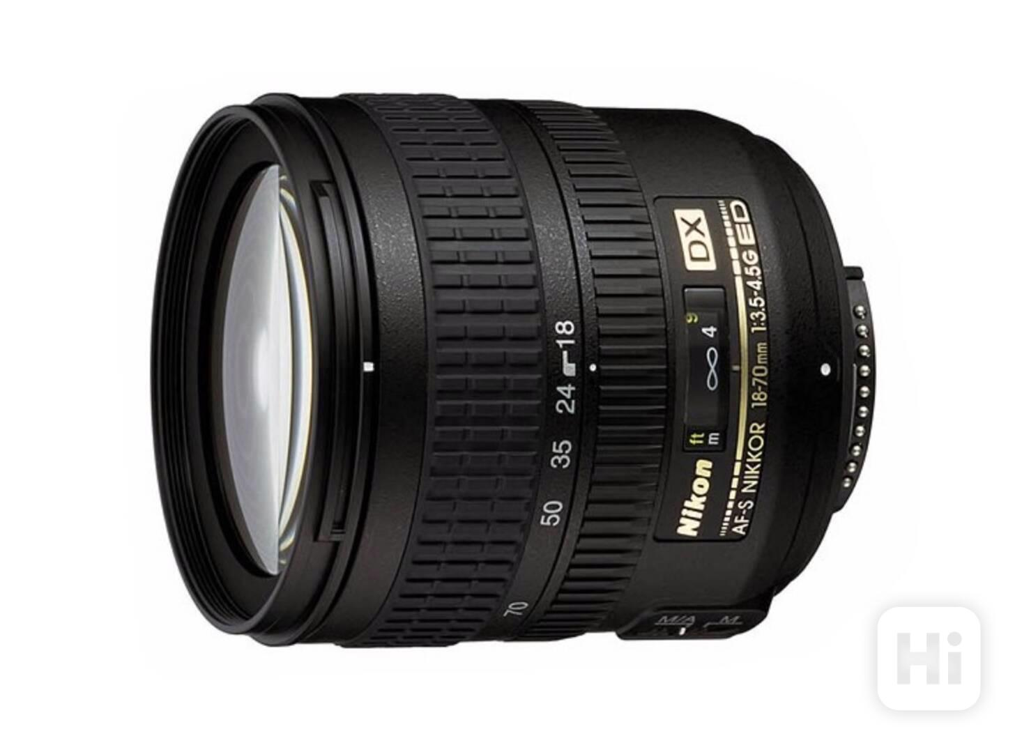 Objektiv NIKKOR AF-S DX 18-70/3, 5-4,5 G IF-ED Nikon - foto 1