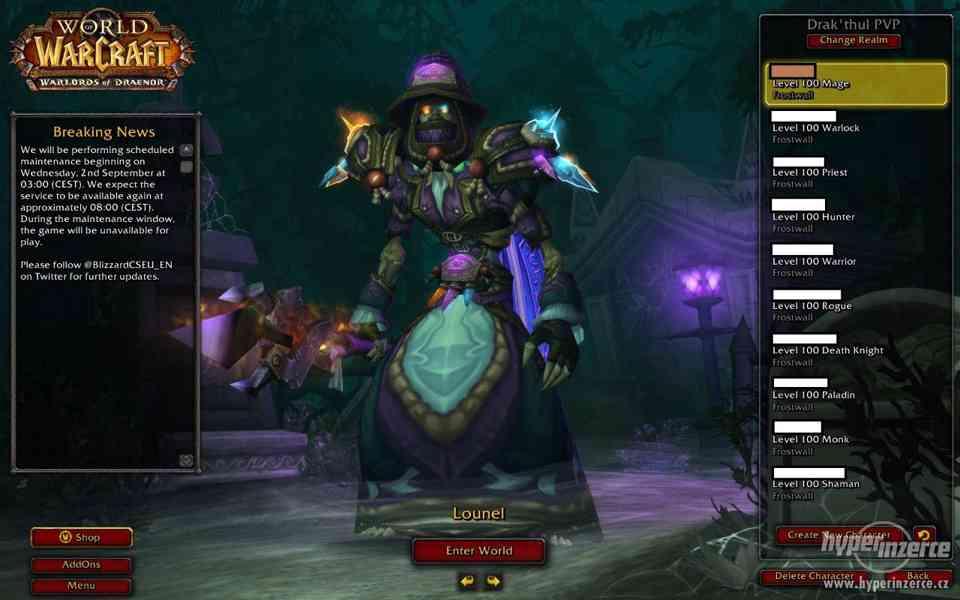 Battle net Acc - World of Warcraft, Diablo 3, Starcraft 2