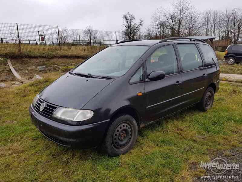 VW Sharan I 1998 VR6 náhradní dily