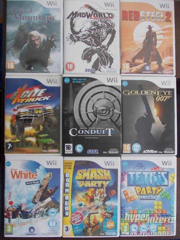 Kolekce 9 kvalitních titulů pro Nintendo Wii
