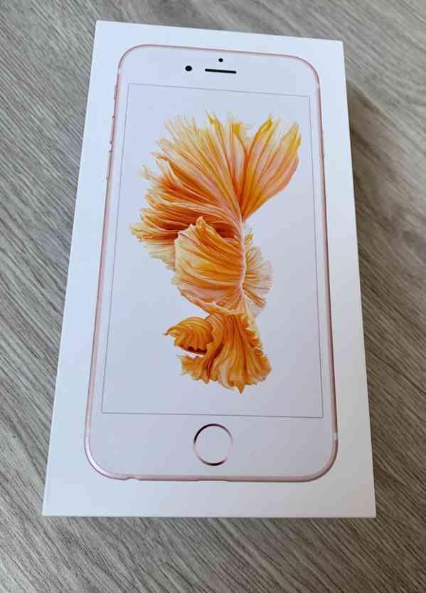 Apple iPhone 6S 128 Gb růžový  - foto 3
