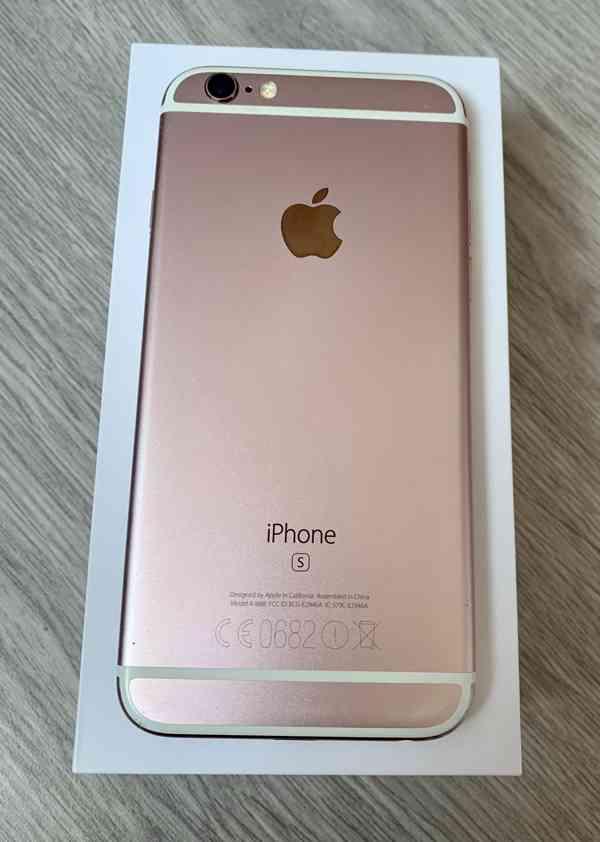 Apple iPhone 6S 128 Gb růžový  - foto 2