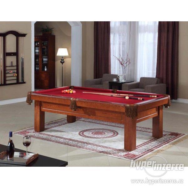 Elegantní jednoduchý kulečníkový stůl 7ft 8ft CHICAGO