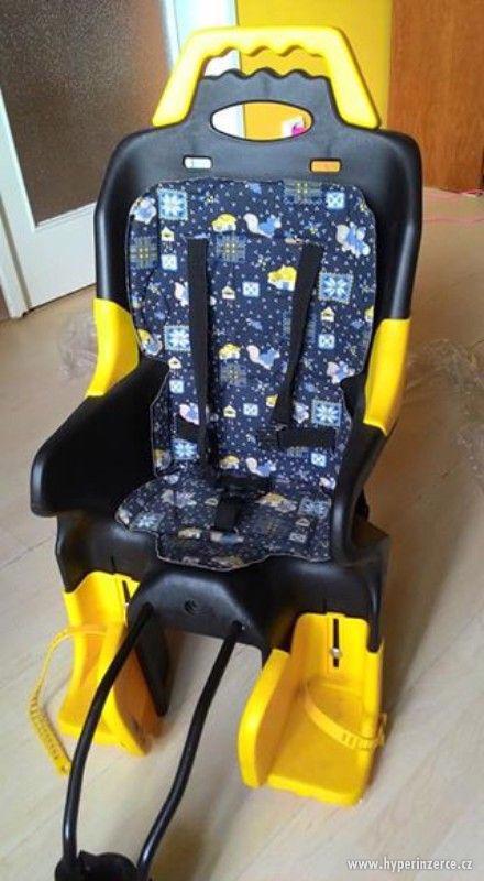 dětská sedačka na kolo - foto 1