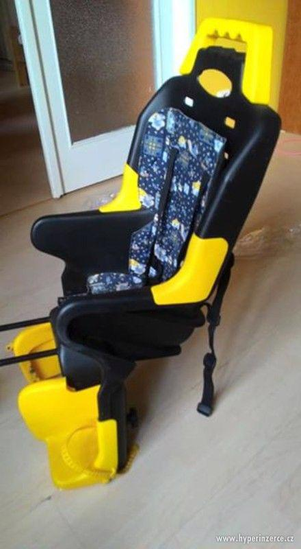 dětská sedačka na kolo - foto 2