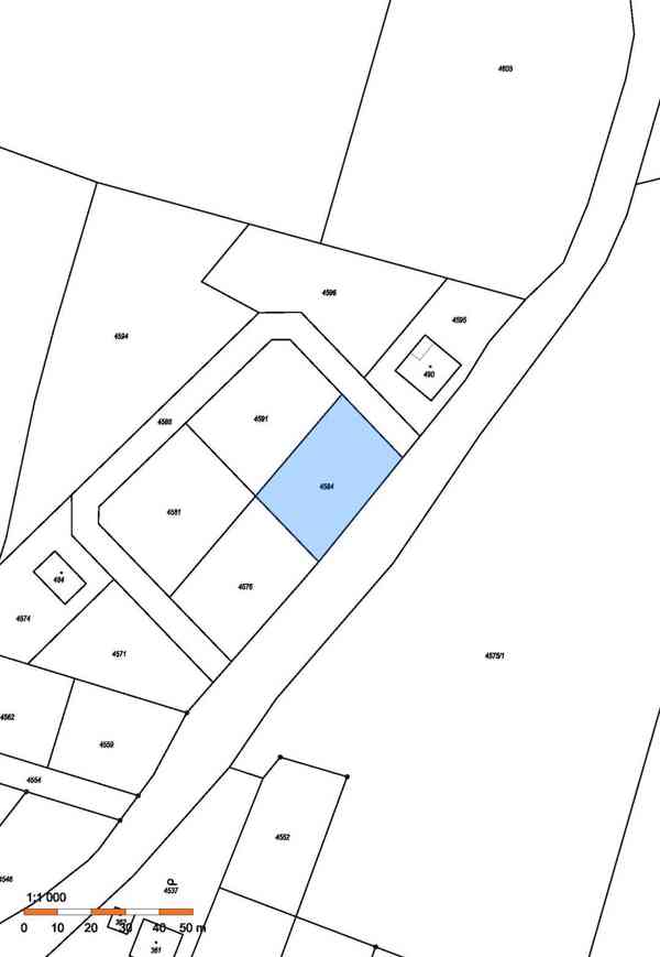 Prodej stavebního pozemku 1 028 m² v obci Přehýšov - foto 2