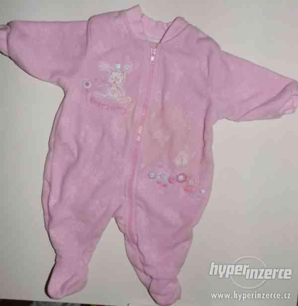 Set 6ks oblečení pro miminko - holčičku vel. 56-68 cm