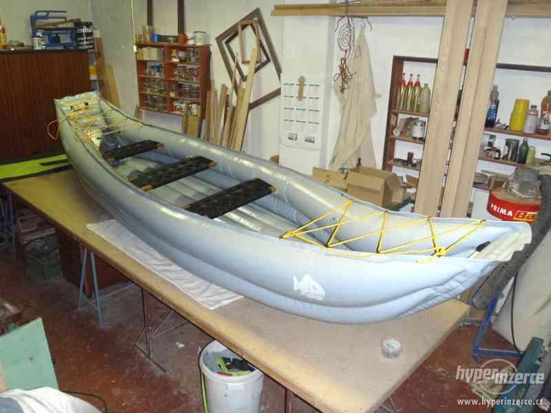 nafukovací kanoe Tramp - foto 2