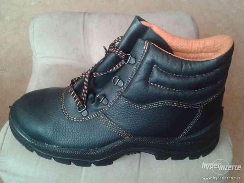 Prodám novou pracovní obuv
