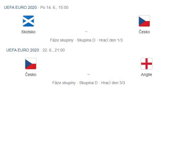 Vstupenky EURO 2020 - foto 1