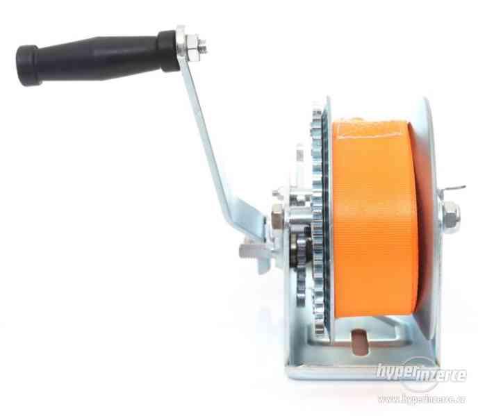 Ruční pásový naviják kladnostroj zvedák 1588kg 10m - foto 2