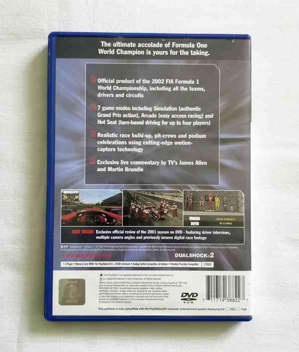 PS2 - Formula One 2002 (F1 2002) - foto 4