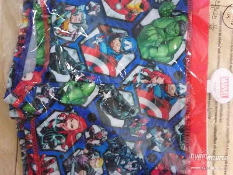 Oblečení s motivy Marvel, DC, Star wars, Nintendo - foto 1