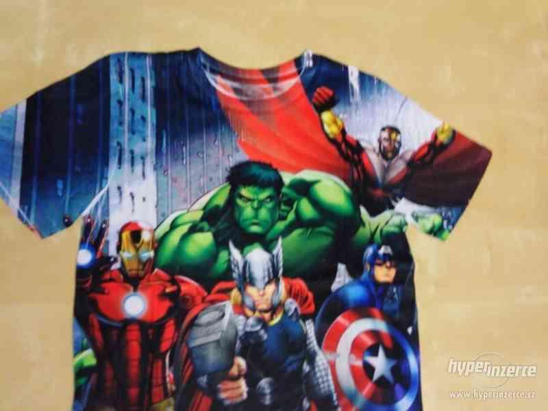 Oblečení s motivy Marvel, DC, Star wars, Nintendo - foto 5